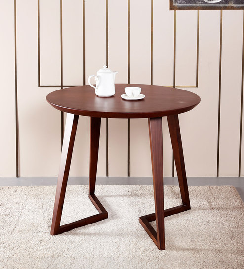 Buy Modern Round Dinning Table By Asanjo Furniture World Online