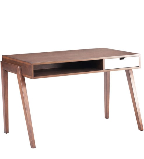 Modern Study Table With Flat Retro Inspired Leg Frame By AfyDecor Part 68