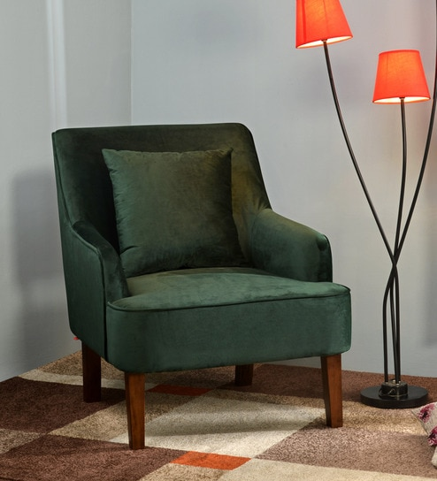 Buy Molly Arm Chair In Green By At Home Online Arm Chairs Arm