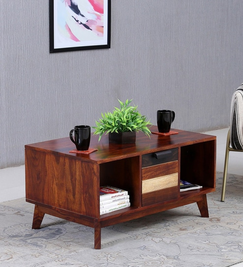 Easy Coffee Table.Monet Solid Wood Coffee Table In Dual Tone Finish By Woodsworth