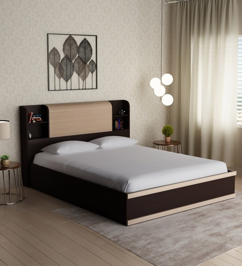 c2cb516b16 Buy Morris King Size Bed with Hydraulic Storage by Durian Online - Modern  King Sized Beds - Beds - Furniture - Pepperfry Product