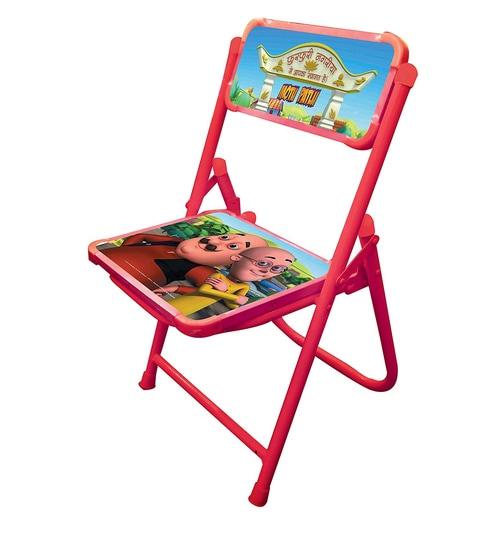 Swell Motu Patlu Kids Chair In Multicolour By Salasar Interior Design Ideas Gentotryabchikinfo