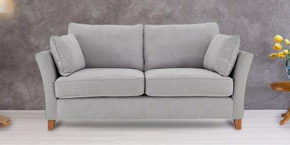 Astonishing Argos 2 Seater Sofa In Light Grey Colour By Afydecor Machost Co Dining Chair Design Ideas Machostcouk