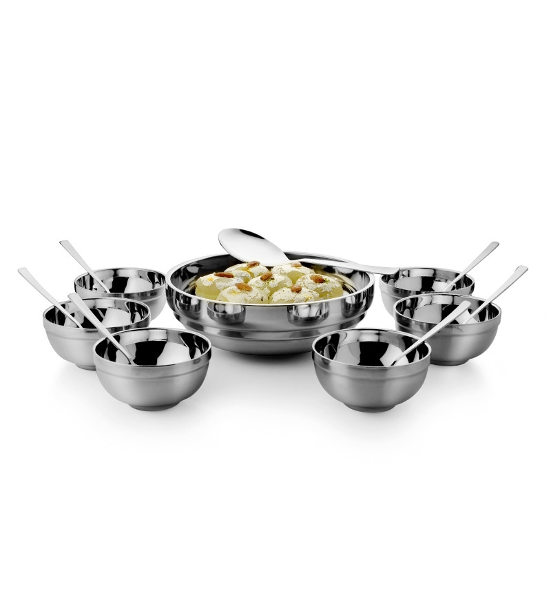 Mosaic Stainless Steel 14 Pcs Dessert Set By Mosaic Online Other