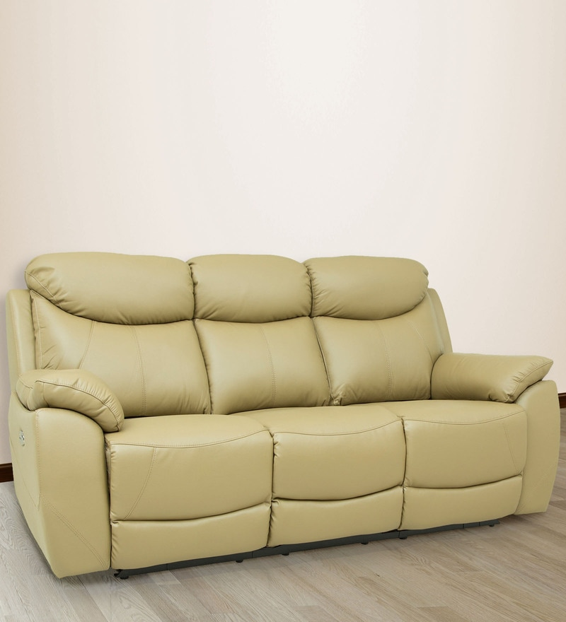 Brilliant Evan 3 Seater Recliner In Taupe Colour By Star India Unemploymentrelief Wooden Chair Designs For Living Room Unemploymentrelieforg