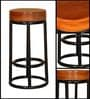 Salmita Metal Bar Stool by Bohemiana