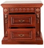 Red Cherry Bedside Table by Hometown