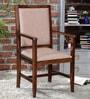 Peshtigo Arm Chair in Provincial Teak Finish by Woodsworth