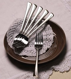 Mullich Kayla Stainless Steel Fork - Set Of 6