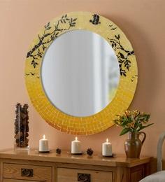 Multicolour MDF Decorative Mosiac Daylight Mirror