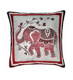 Multicolour Polyester 16x16 Inch Cushion Cover - 1622898