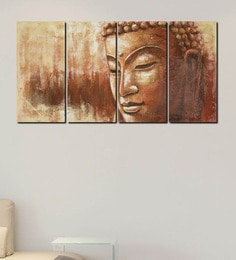 999Store Serene Buddha Multiple Frame Wall Art 999Store at pepperfry