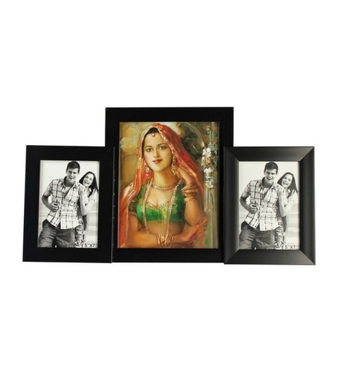 329603acb79 Buy Snap Galaxy Black Synthetic Wood Photo Collage Frame Online - Collage  Picture Frames   Sets - Photo Frames - Pepperfry