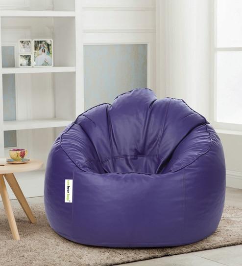 Remarkable Mudda Xxxl Bean Bag With Beans In Purple Colour By Can Creativecarmelina Interior Chair Design Creativecarmelinacom