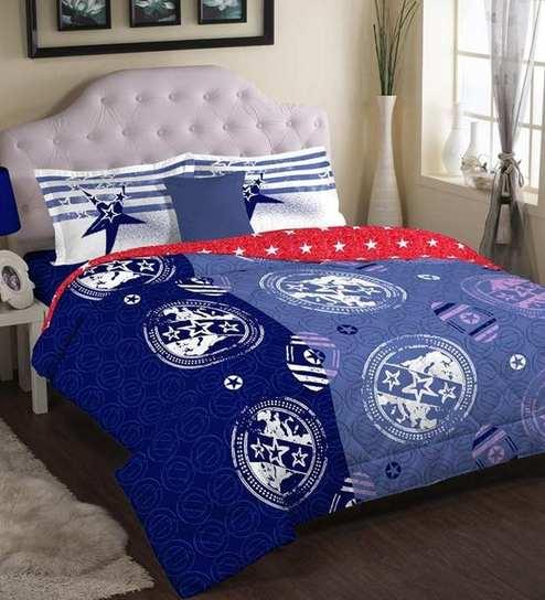 Multi Colour American Living Double Comforter