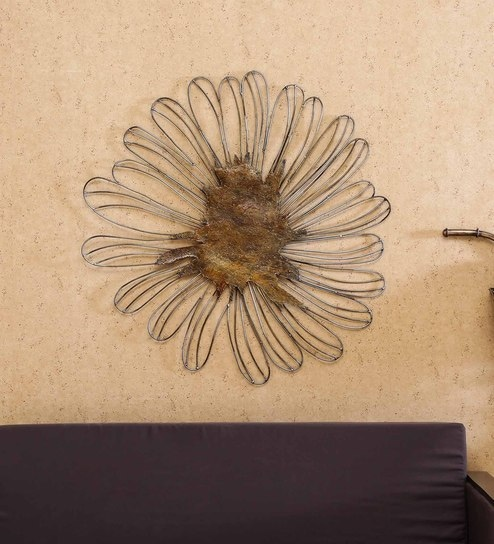 Multicolor Iron Sahaj Wall Decor By Vedas