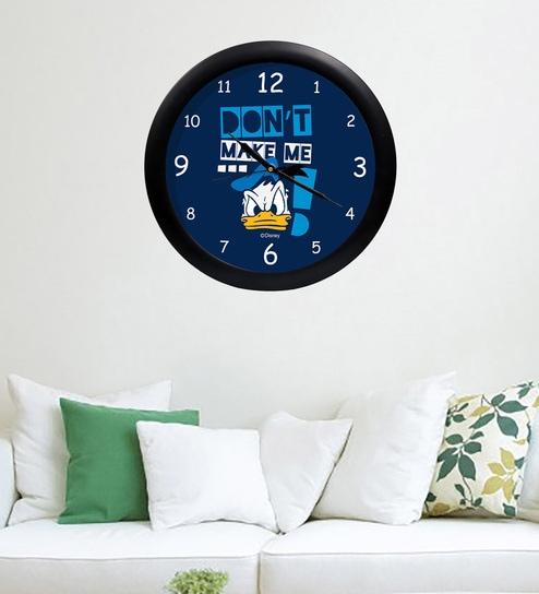 8fbcd2c8827 Buy Multicolour Acrylic   Glass Wall Clock by Orka Online - Kids ...