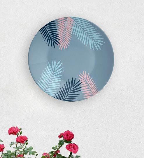 Carolina Leaf Decorative Wall Plate