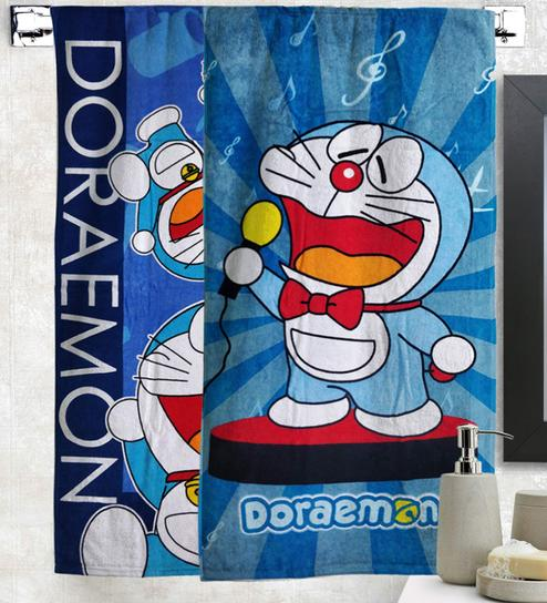 Buy MultiColour Cotton 350 GSM Bath Towel By Doraemon Online - Kids Towels - Towels - Carpets & Furnishing - Pepperfry Product