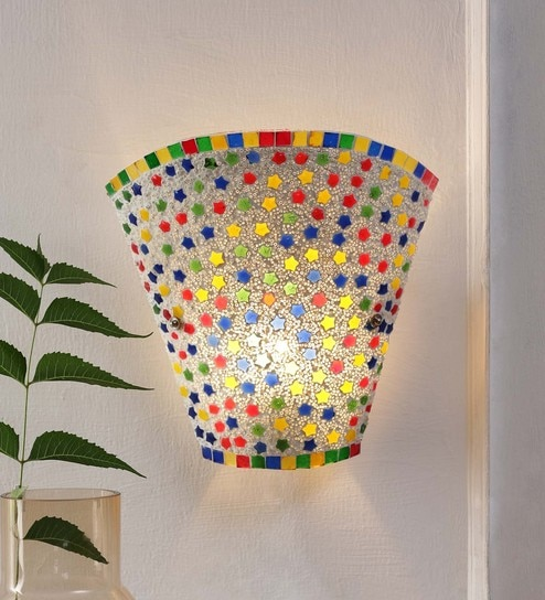 Multicolour Glass Wall Mounted by New Era