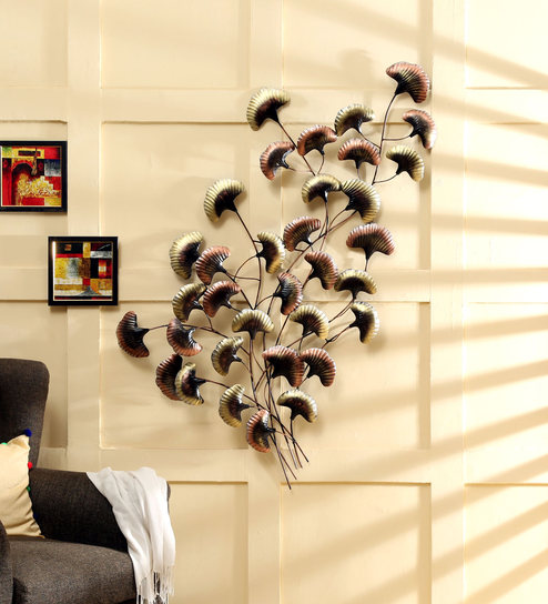 Buy Multicolour Iron Grow Wall Decor by Vedas Online - Metal Wall ...