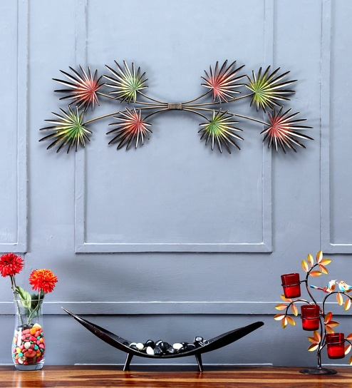 ff5d5087a Buy Multicolour Iron Wall Hanging by Sugandha Online - Abstract Metal Art -  Wall Art - Wall Art - Pepperfry Product