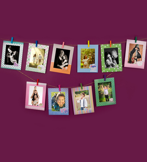 73951d696c16 Buy Multicolour Paper & Cardboard 10 Cardboard Set Photo Frame by Golden  Peacock Online - Collage Photo Frames - Collage Photo Frames - Wall Art -  Pepperfry ...