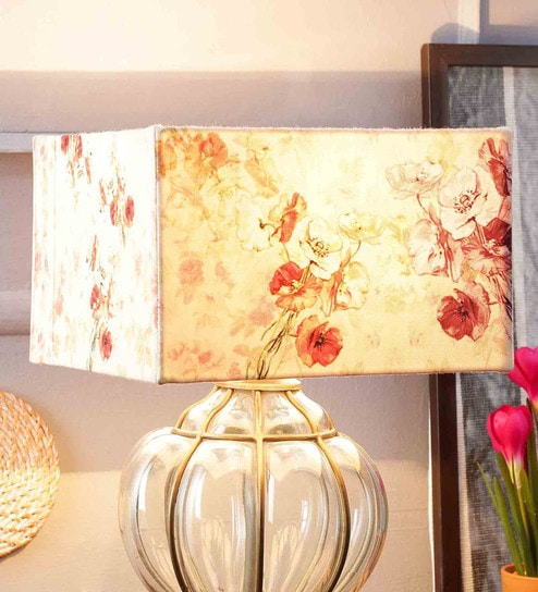 Buy multicolour poly duck pink flower lamp shade by leaf designs multicolour poly duck pink flower lamp shade by leaf designs mightylinksfo