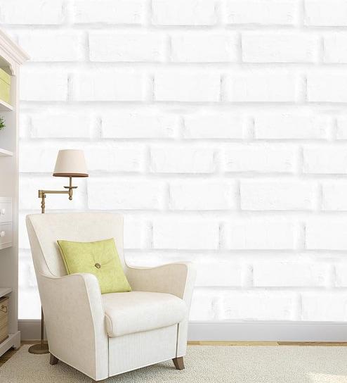 Multicolour Vinyl Bricks Design Self Adhesive Peel Wallpaper By 100yellow