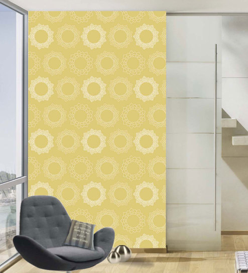 Multicolour Vinyl Wallpapers Floral Printed Peel And Stick Waterproof Wallpaper For Home Office Decoration By 100yellow