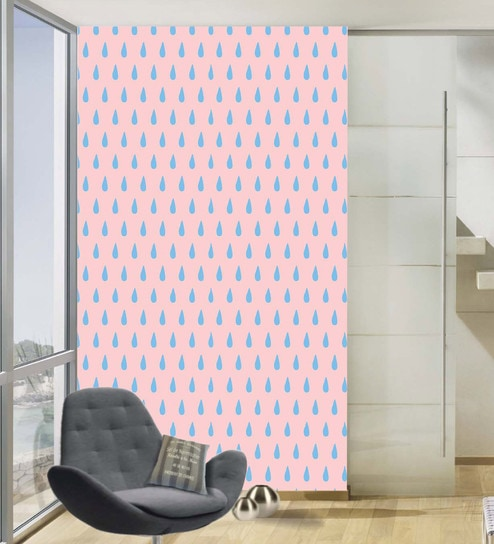 Multicolour Vinyl Wallpapers Peach Printed Peel And Stick Waterproof  Wallpaper For Living Room D cor By 100Yellow
