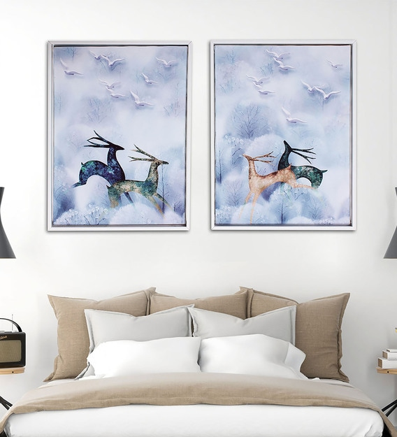 IMAGINATION Canvas Poster Art Picture Prints Home Wall Hanging Decor