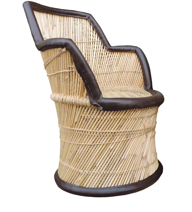 Buy Mudda Cane Chair In Multicolour By Shinexus Online