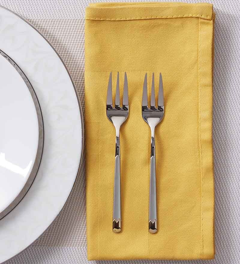 Mullich Lisbo Stainless Steel Fork - Set of 6