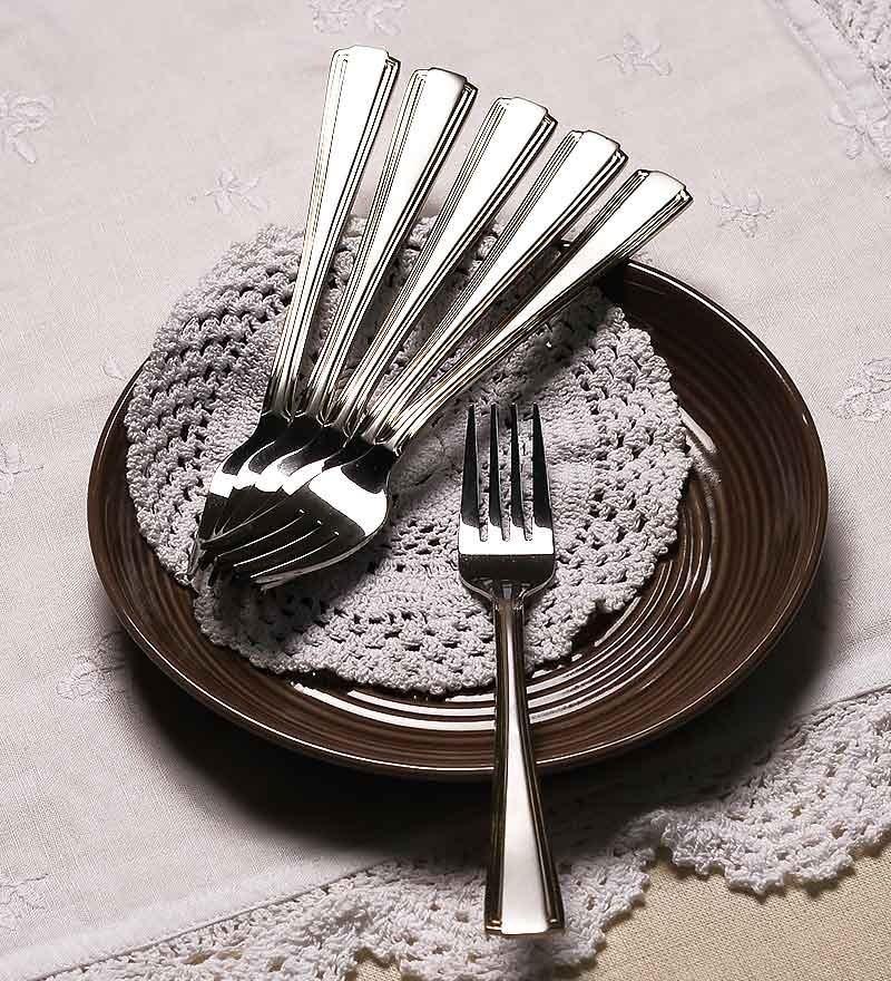 Mullich Aerigo Stainless Steel Fork - Set of 6