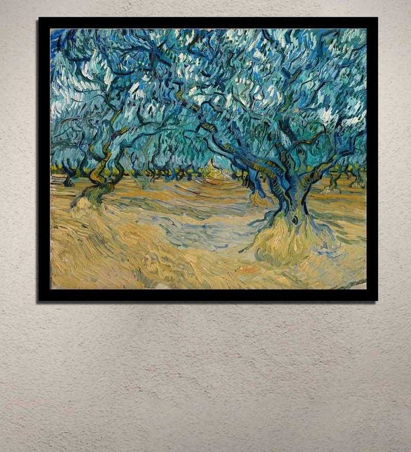 81983ba2880 Multicolour Canvas Vincent Van Gogh a View of Arles with Orchards in  Blossom Digital Art Print