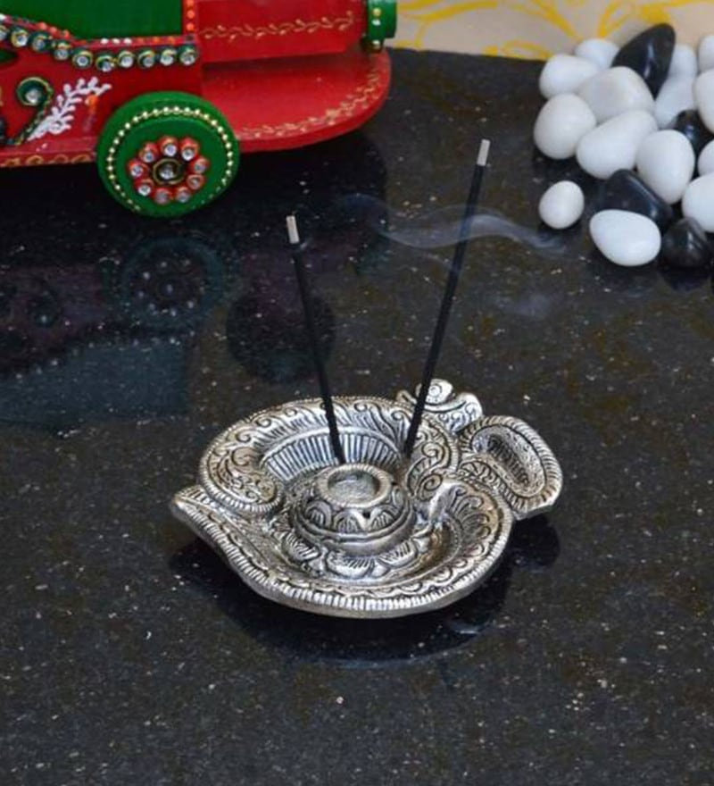 Multicolour Iron Om Incense Holder by GAC Trend
