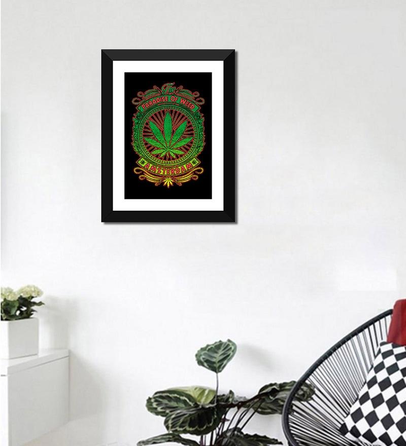 buy poster paper 12 x 16 inch varanasi sadhu framed poster