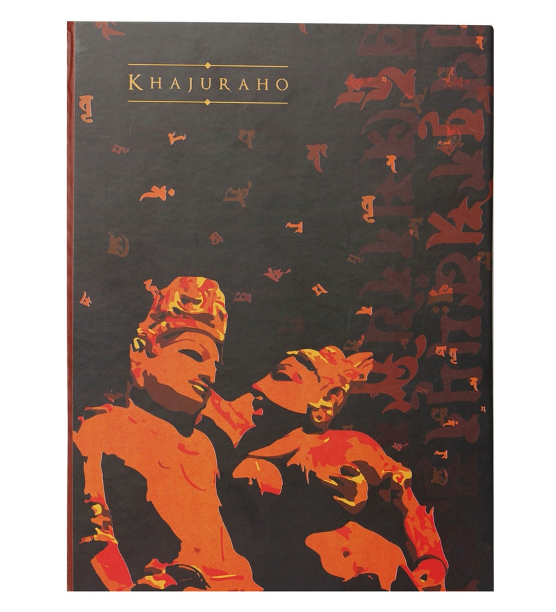 Multicolour Paper Khajuraho Couple Diary by Mad(e) in India