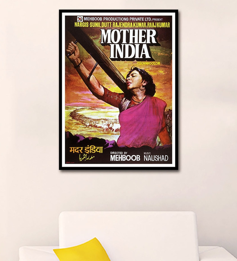 Multicolour Paper Mother India by Tallenge