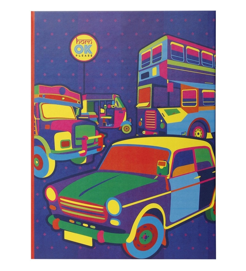 Multicolour Paper Mumbai Transports Diary by Mad(e) in India
