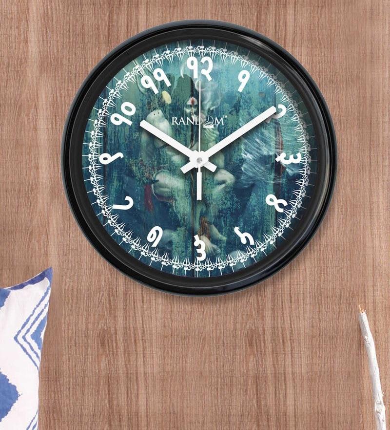 6a2fafa800 Buy Multicolour Plastic Wall Clock by Random Online - Indian Ethnic ...