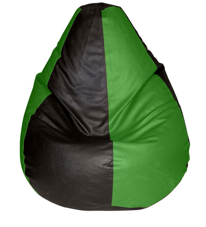Multicolour Teardrop Bean Bag (Only Cover) by Feel Good