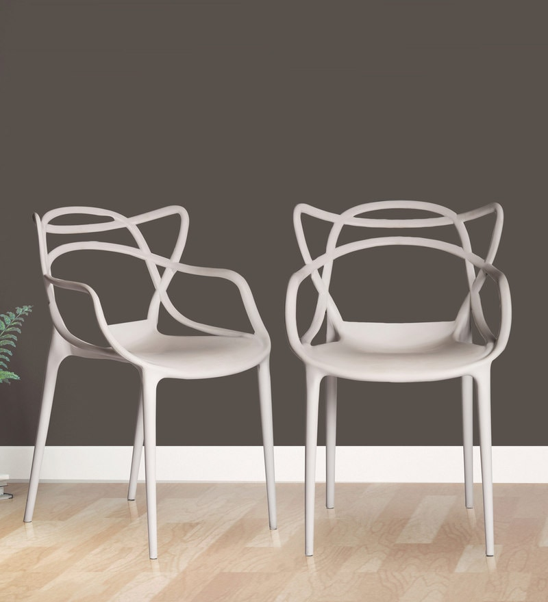 Buy Andrew Multipurpose Abstract Design Chair Set Of 2