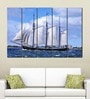 Multiple Frames Printed Big Ship in the sea Art Panels like Painting - 5 Frames