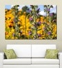 Multiple Frames Printed Flower Fields Art Panels like Painting - 5 Frames