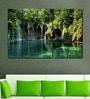 Multiple Frames Printed Forest Water Falls Art Panels like Painting - 5 Frames