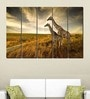 Multiple Frames Printed Giraffe in the forest Art Panels like Painting - 5 Frames
