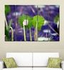 Multiple Frames Printed Green Leaves Panels like Painting - 5 Frames