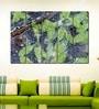 Multiple Frames Printed Greens Leaves stems Art Panels like Painting - 5 Frames